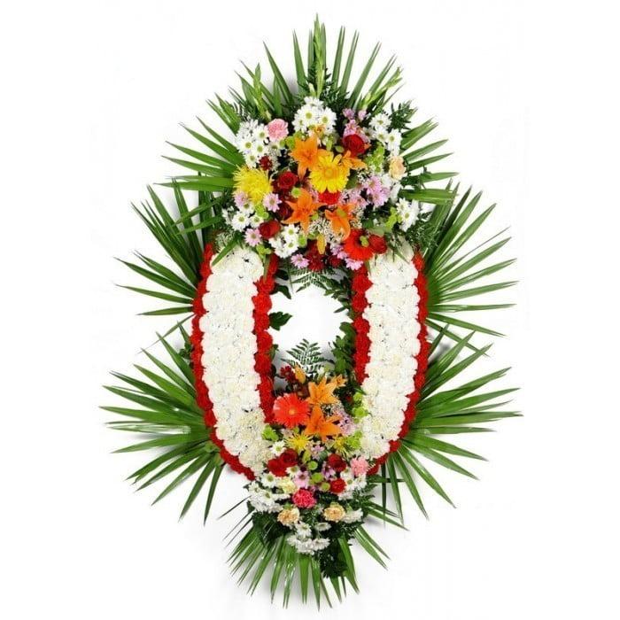Corona De Flores Sencilla