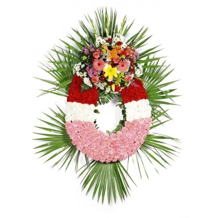 Corona De Flores Estandar
