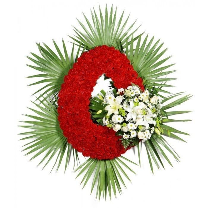 Corona De Flores Estandar Especial