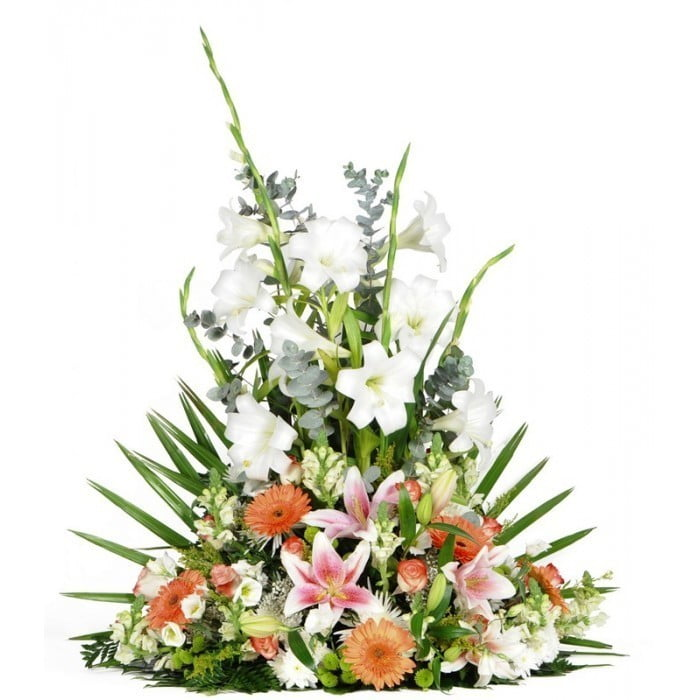 Centro De Flores Clásico Variado