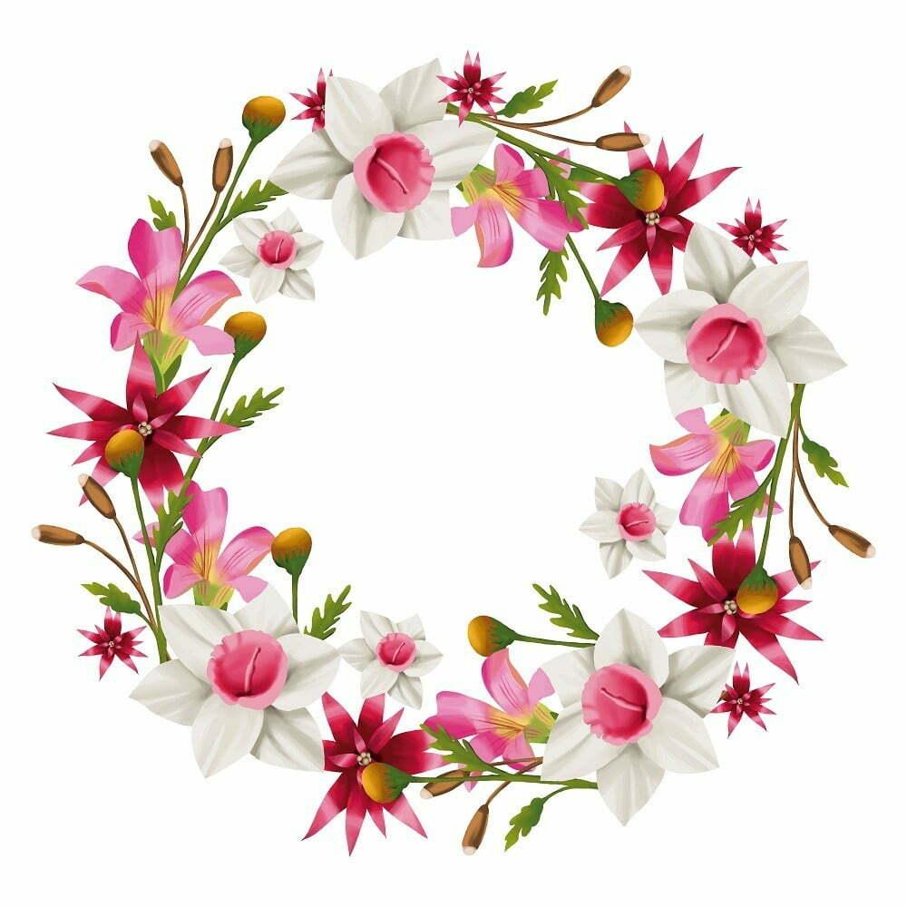 Corona de flores a tu gusto y presupuesto