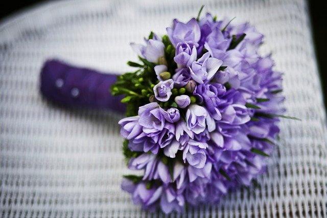 ramo de flores para difunto